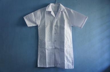 jual baju lab lengan pendek - 0811-598-6161