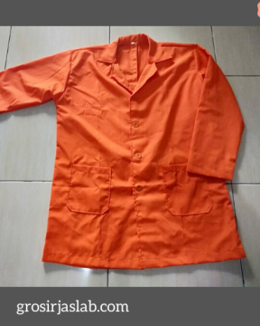 jas lab warna orange